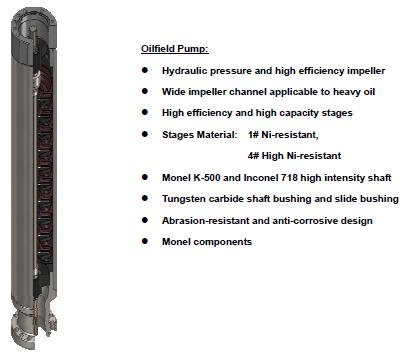 Hot Sale!Reda Electric Submersible Pump,submersible pump,sub