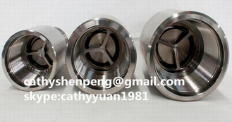 China Hot sale Bolt-on Discharge head,check  valve ,bleeder valve,drain valve for Electric Submersible Pumps system supplier