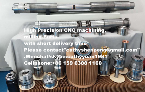 China High precision CNC Machining Parts housing/base/bearing with good price and short delivery time for ESP systems supplier