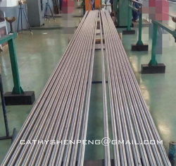 China Round Pump Shaft with Inconel AISI4130 Material for Electric Submersible Pump System supplier