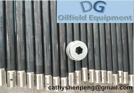 China oilfield Monel alloy Splined rotor shaft of oil electric submersible pump-China manufacturer supplier
