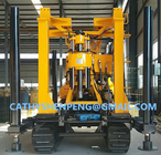 China 130 Crawler type Hydraulic Diamond Core Drilling Machine for mineral exploration company