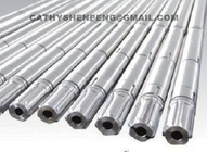 Standard and Non-standard Motor rotor shaft with spline sleeve for electric submersible oil /water pumping system